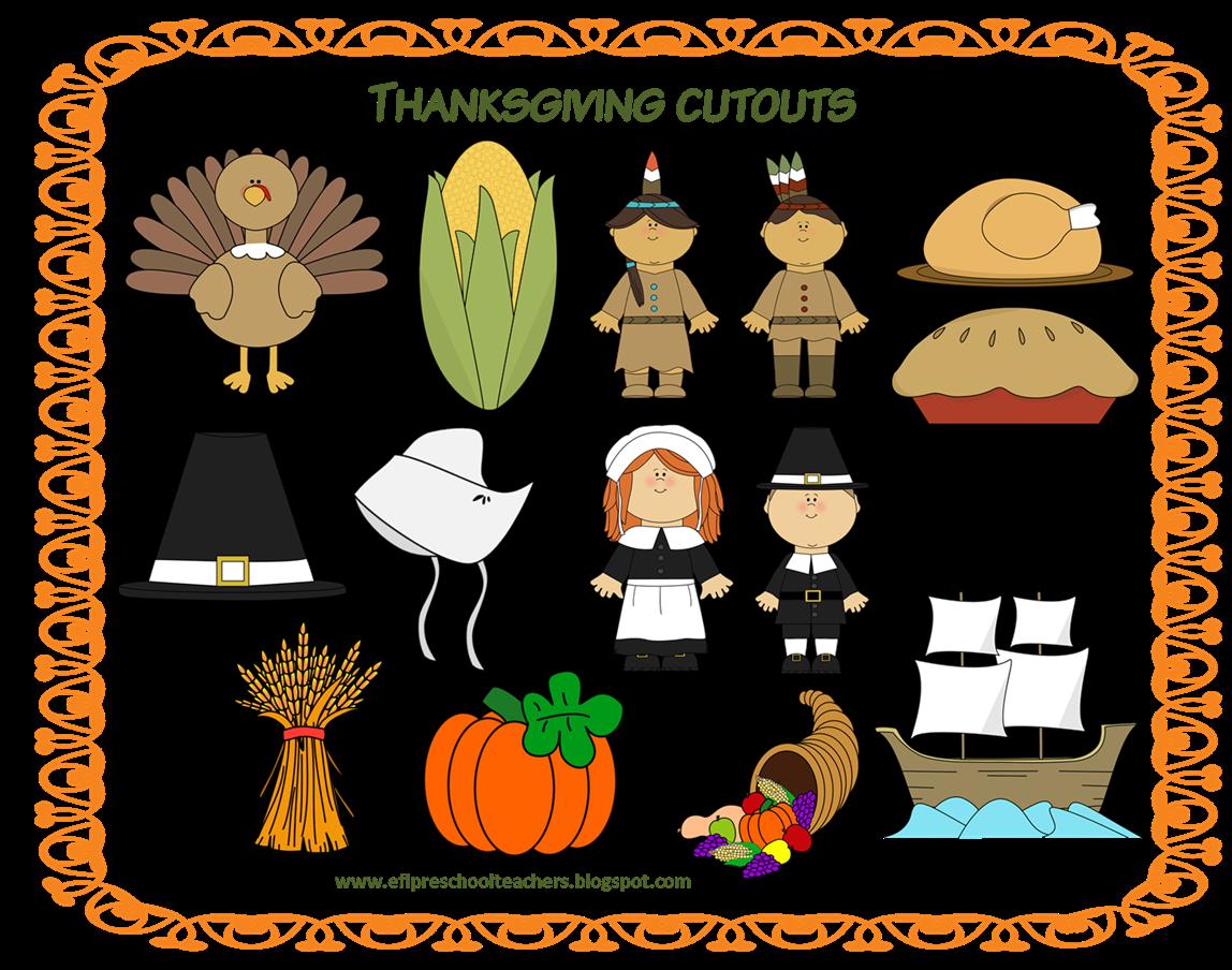 Esl Efl Preschool Teachers Thanksgiving 4th Edition