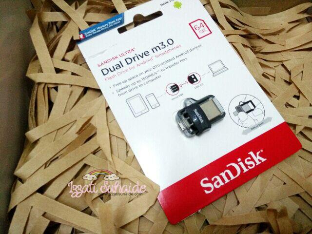 Cepat dan Mudah dengan Menggunakan Sandisk Ultra Dual Drive m3.0 64GB