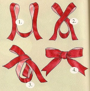 bow template, Bows, Ribbons,