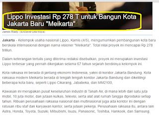 Project Meikarta, LPKR ready for a big rally
