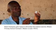 WORLD'S FIRST MALARIA VACCINE PILOT LAUNCHES IN MALAWI, KENYA AND GHANA