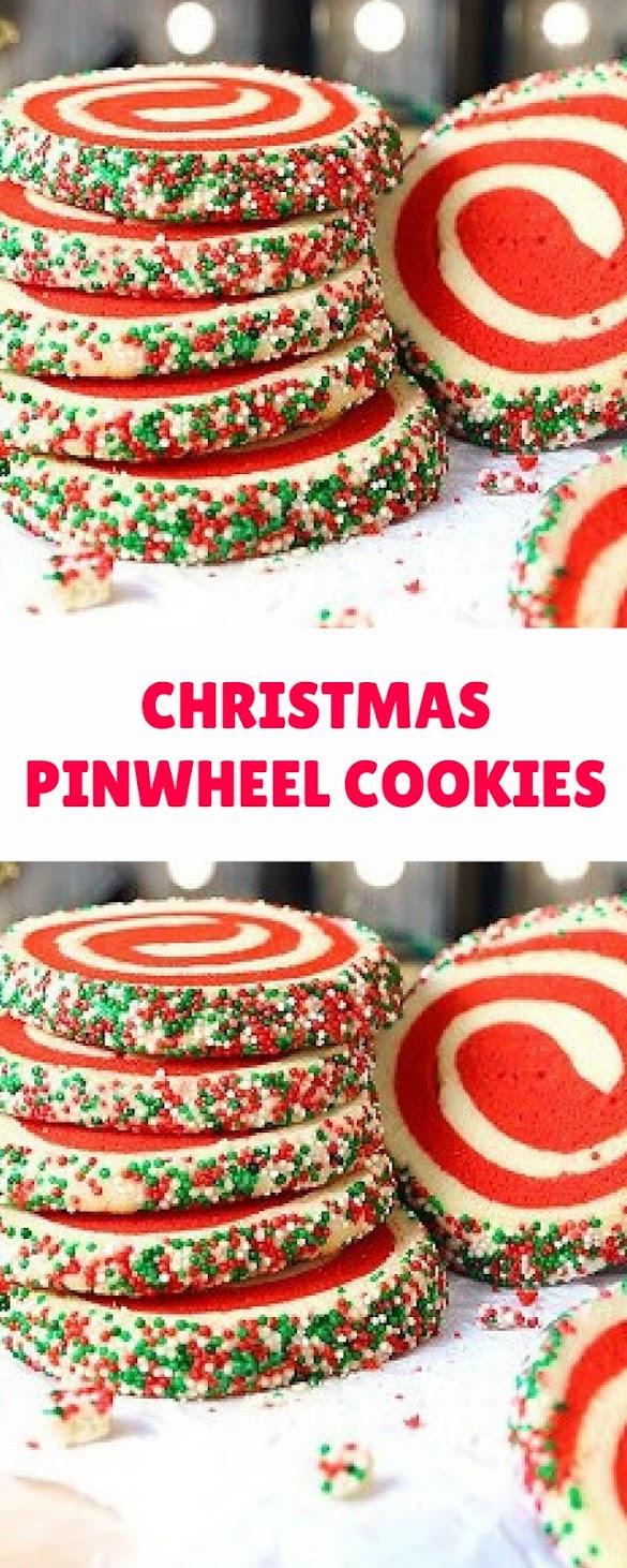 Christmas Pinwheel Cookies.Christmas Pinwheel Sugar Cookies With Video Christmas