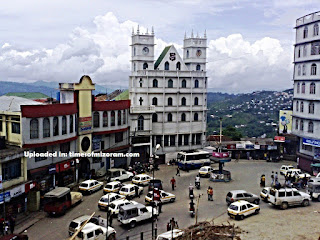 city of aizawl mizoram