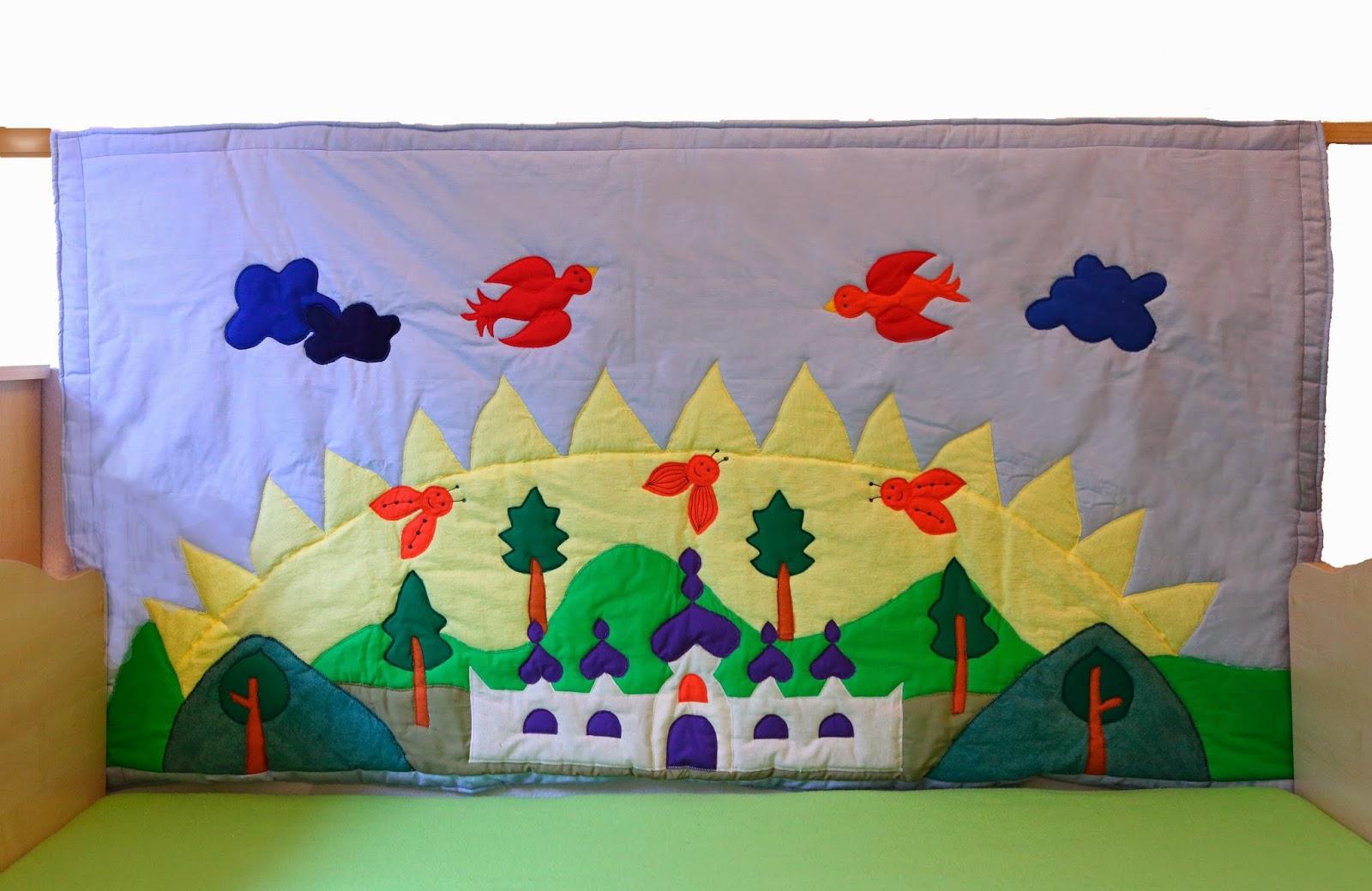 Handgemacht Wanddekoration Fur Kinderbetten