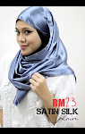 SATIN Shawl~ PLAIN