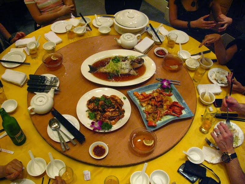 Lazy Susans Have Become A Staple Piece Of Chinese Dining Equipment