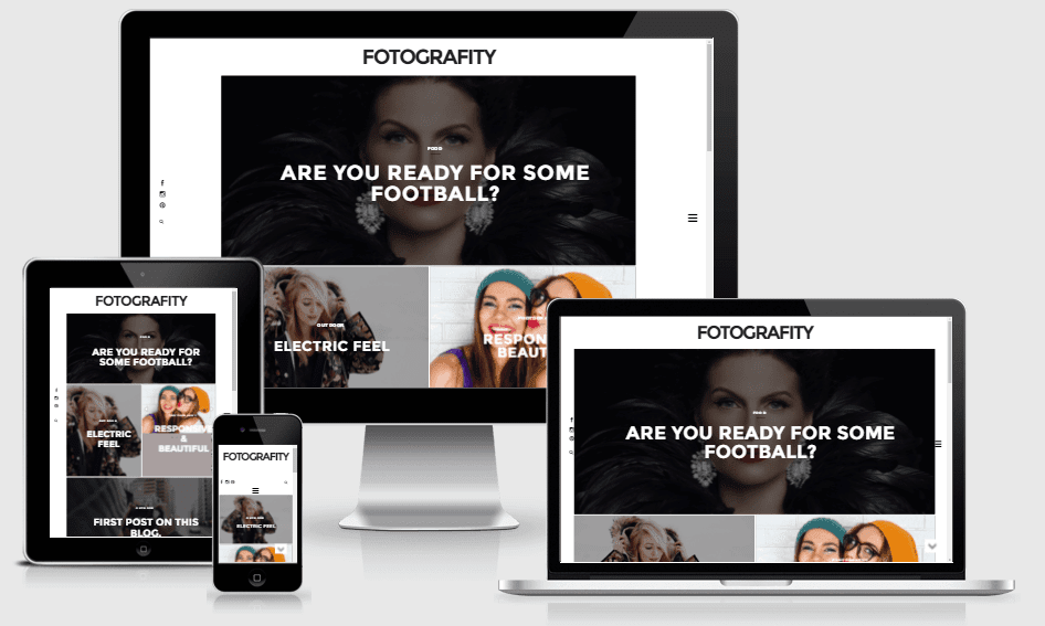 Fotografity - Responsive Photography Blogger Template