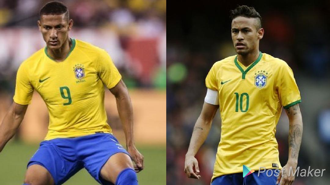 Neymar promete cuidar de Richarlyson na Seleção Brasileira d81dc820d7bdd