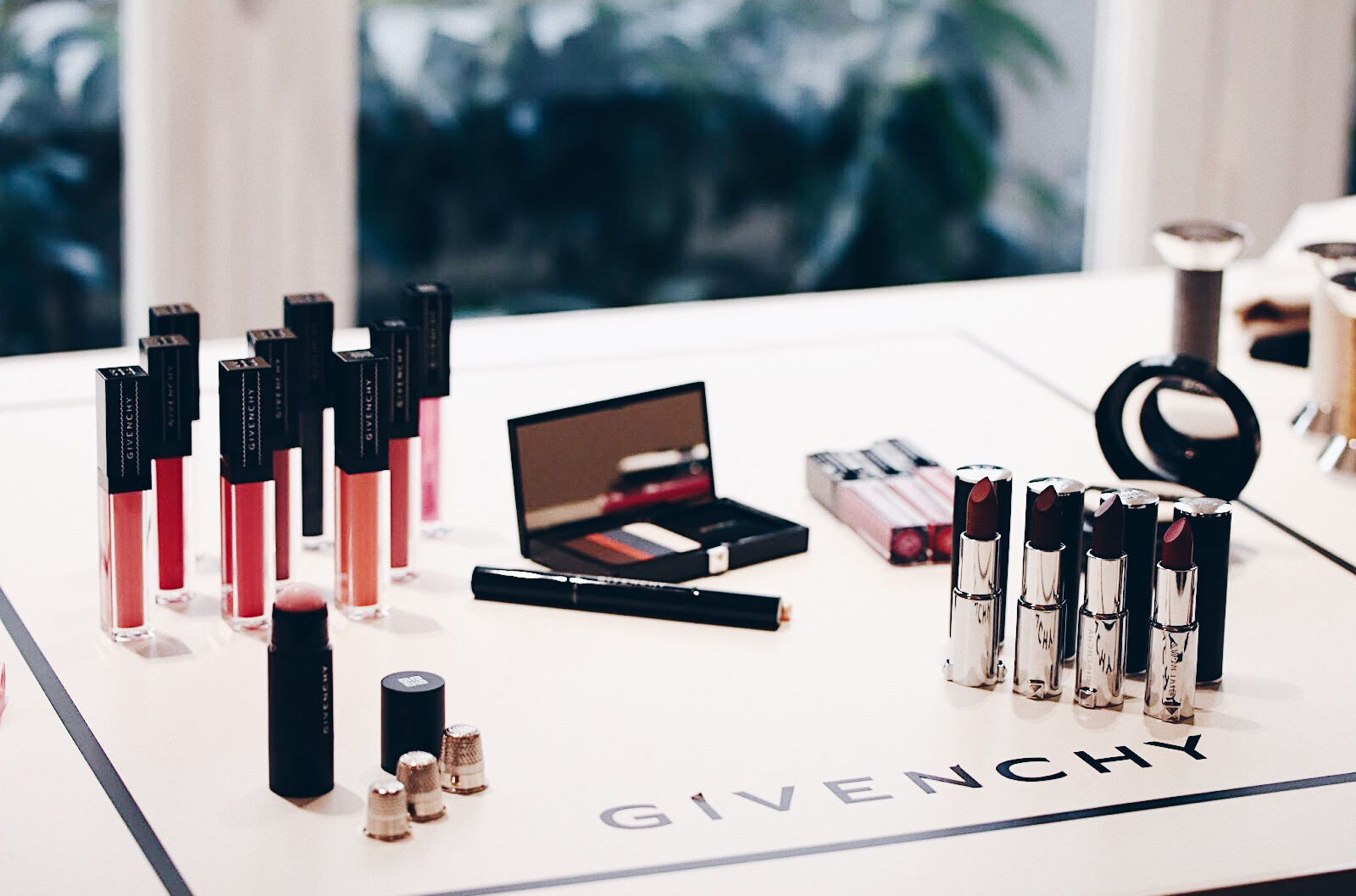 givenchy collection spring printemps maquillage makeup 2018 swatches