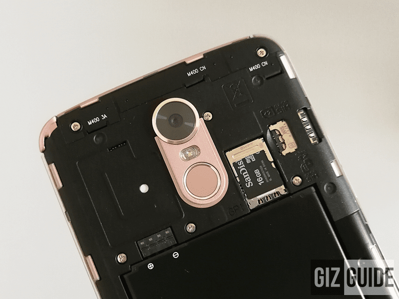 Dual SIM slots and micro SD card placement