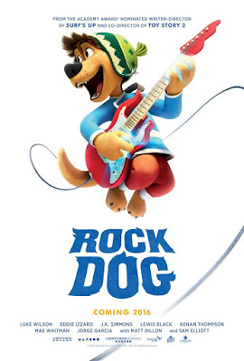 Rock Dog 2016 DVD Custom NTSC Latino HDTS