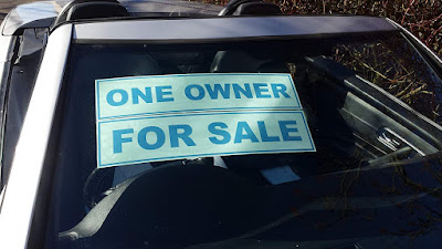 """""""For Sale"""" Stickers On Moving Cars To Attract N50,000 Payment In Abuja"""