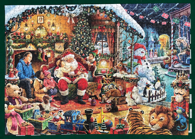 best Christmas jigsaws