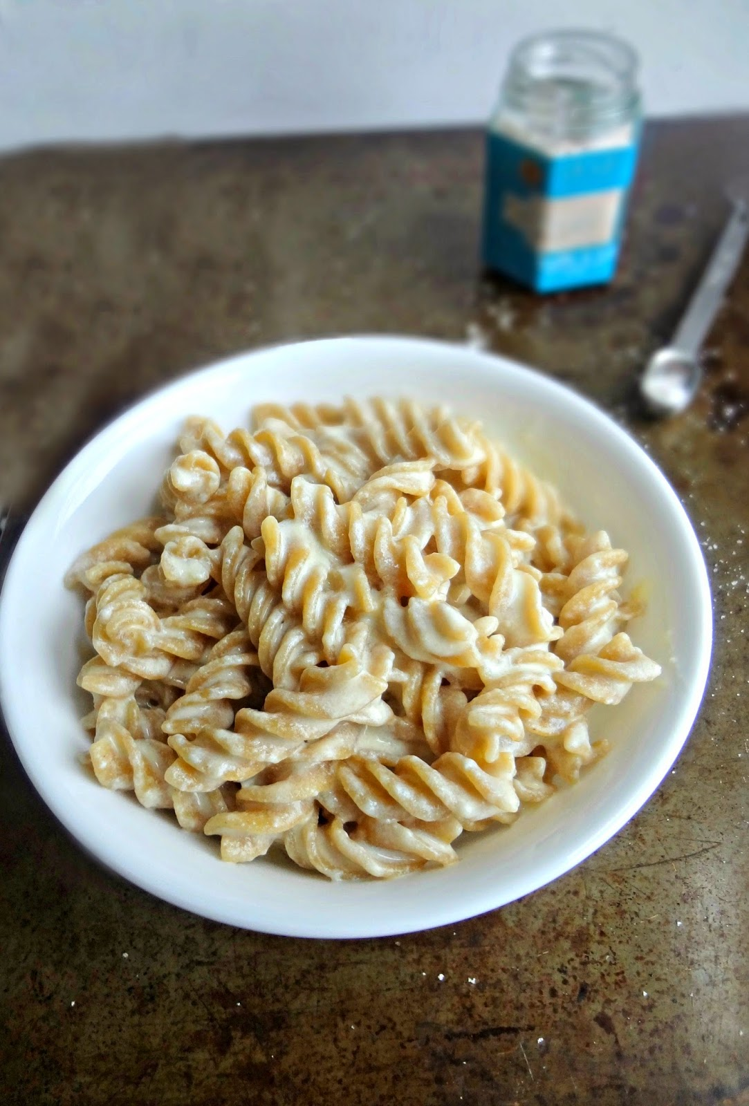 White Cheddar Macaroni and Cheese with Truffle Sea Salt
