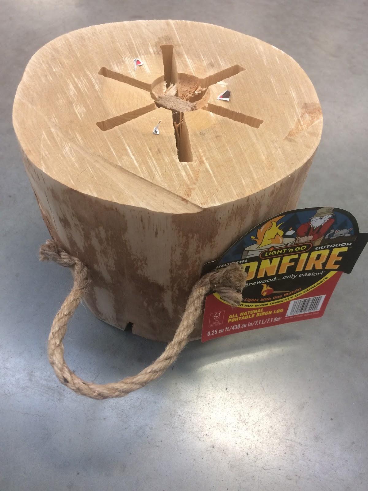 Review: Lightu0027nu0027Go Bonfire Log