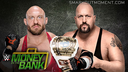 WWE Money in the Bank 2015 Big Show vs Ryback IC Title Match