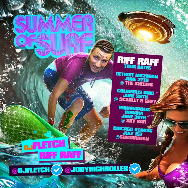Riff Raff - Summer of Surf Cover