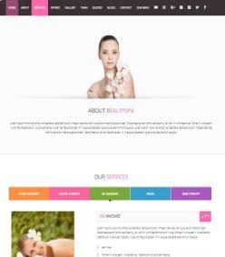 Template blogspot blogger theme Spa