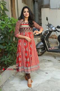Telugu Actress Nikhila Vimal Latest Stills in Anarkali Dress  0219.JPG