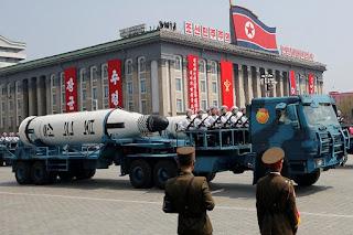Rudal-rudal Korut Bergerak Diduga untuk Merespons Manuver AS