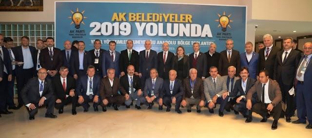 Yerel yönetimler toplantısı Urfa'da sona erdi