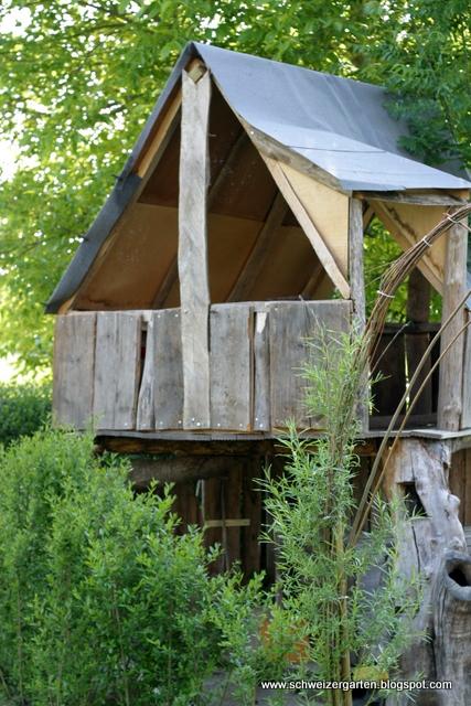 ein schweizer garten das do it yourself baumhaus. Black Bedroom Furniture Sets. Home Design Ideas