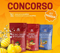 Logo Vinci gratis il Kit di Pasqua di Super Alimenti Iswari
