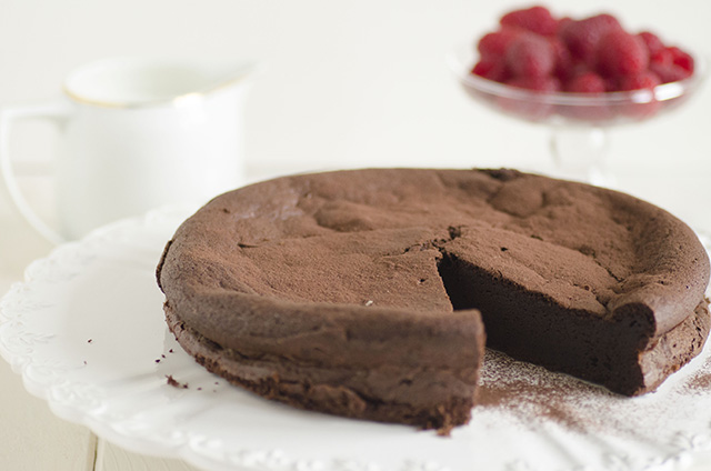 Torta di cioccolato senza farina
