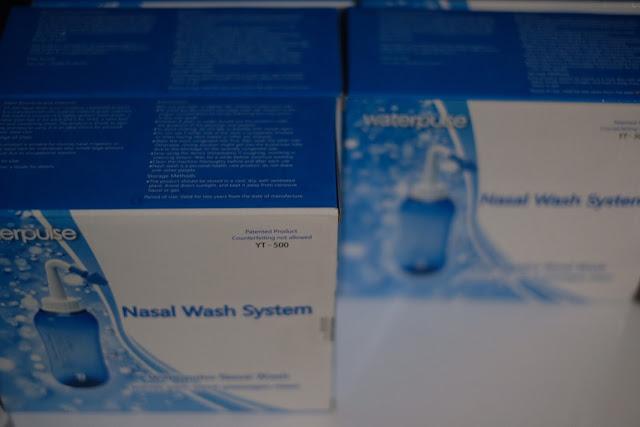 WATERPULSE NASAL WASH SYSTEM