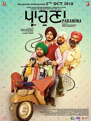 Parahuna 2018 Punjabi Full Movie Pre DVDRip 720p