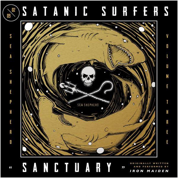 "Satanic Surfers stream new song ""Sanctuary"" (Iron Maiden cover)"