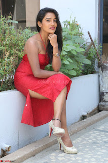 Mamatha sizzles in red Gown at Katrina Karina Madhyalo Kamal Haasan movie Launch event 008.JPG