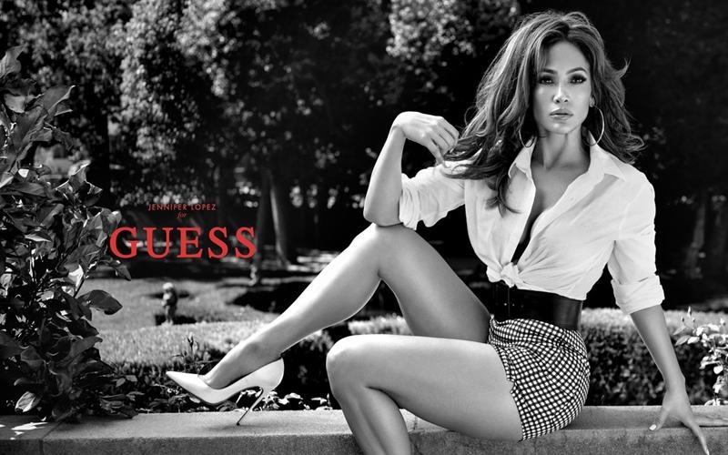 Jennifer Lopez Guess'in Yeni Yüzü Oldu
