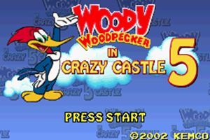 Woody Woodpecker in Crazy Castle 5 GBA Rom - Download Game PS1 PSP