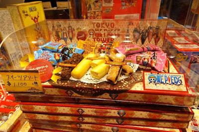 One Piece Snacks at One Piece Mugiwara Store Tokyo Tower