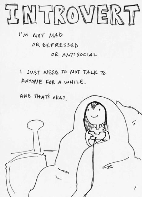 Guide de survie de l'introverti
