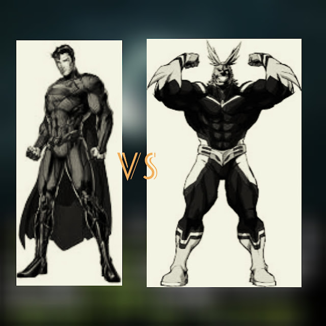 Who is stronger superman or all might