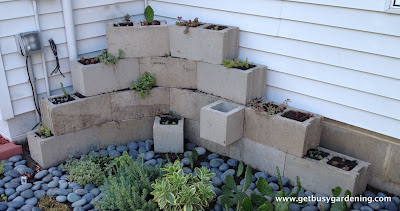Another Creative Way To Use Concrete Blocks In Your Garden And Yard Is To  Use Them To Make Steps Or Stairs, Like Step By Step DIY In Tuscon Did In  The ...
