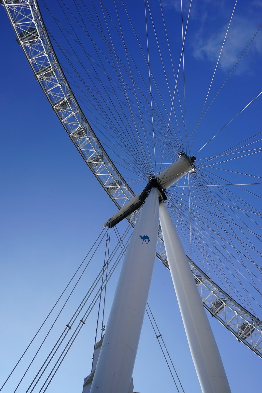 Le Chameau Bleu - La grande roue de Londres