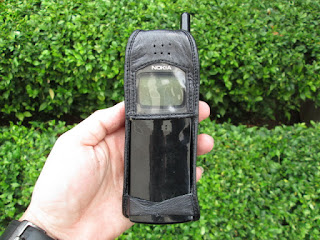 sarung pinggang kulit Nokia 8110 pisang