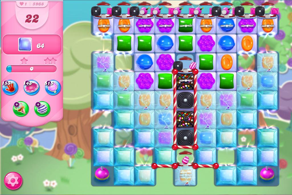 Candy Crush Saga level 5968