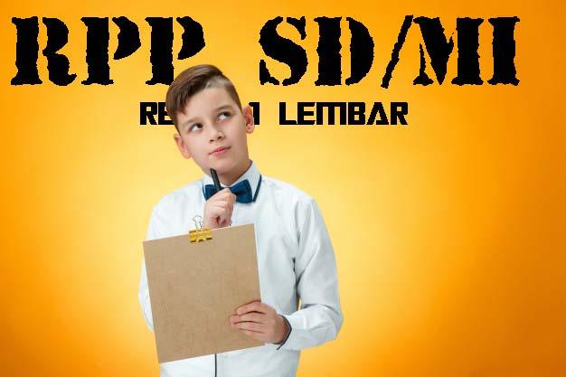 RPP SD Kelas 4 Tema 5 Revisi