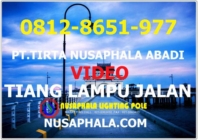 JUAL TIANG LAMPU JALAN