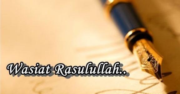 Tiga Wasiat Nabi untuk Peradaban Islam