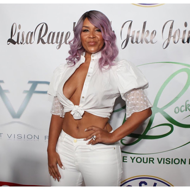 Oh my! Check out the outfit Lisa Raye McCoy wore to her ...