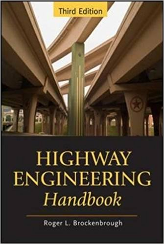 handbook of highway engineering pdf