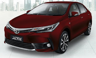 Harga Toyota Corolla Altis Red Mica Metallic di Pontianak