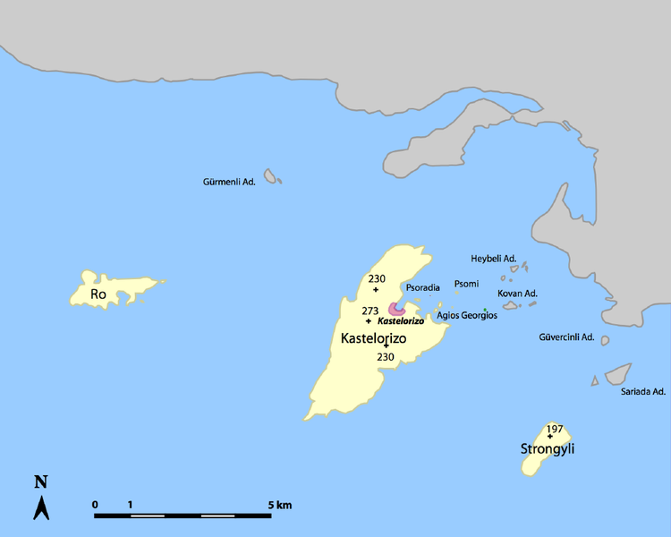 Griechische Insel Zora
