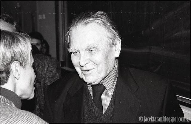 Czesław Miłosz, spotkanie ze studentami UJ, fot. Jacek Taran