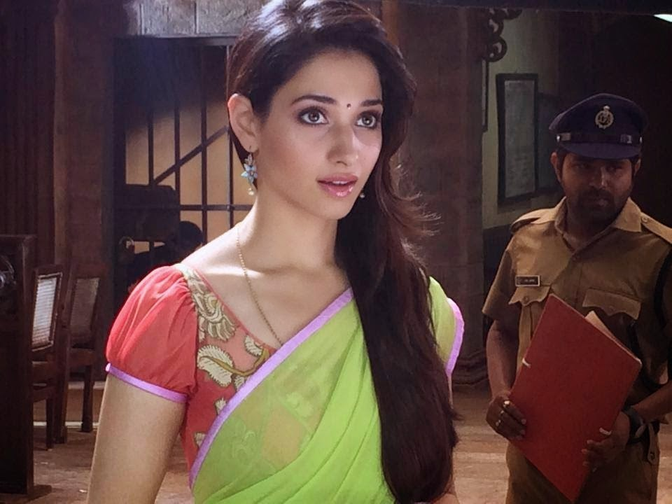 Tamanna In Tadakha Halfsaree: Aagadu Movie Tamanna Latest Stills